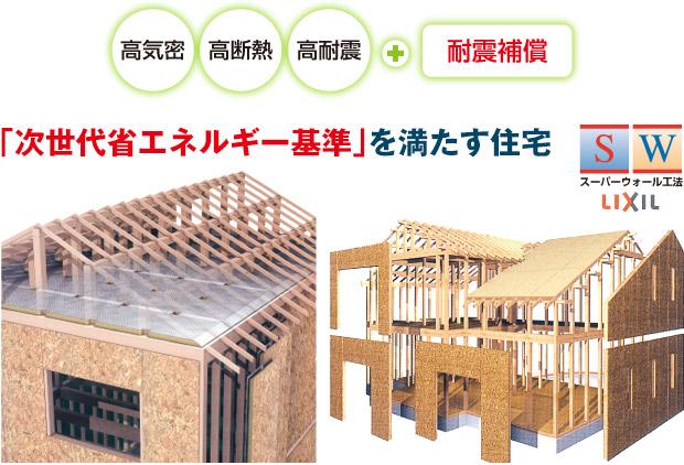 「次世代省エネルギー基準」を満たす住宅